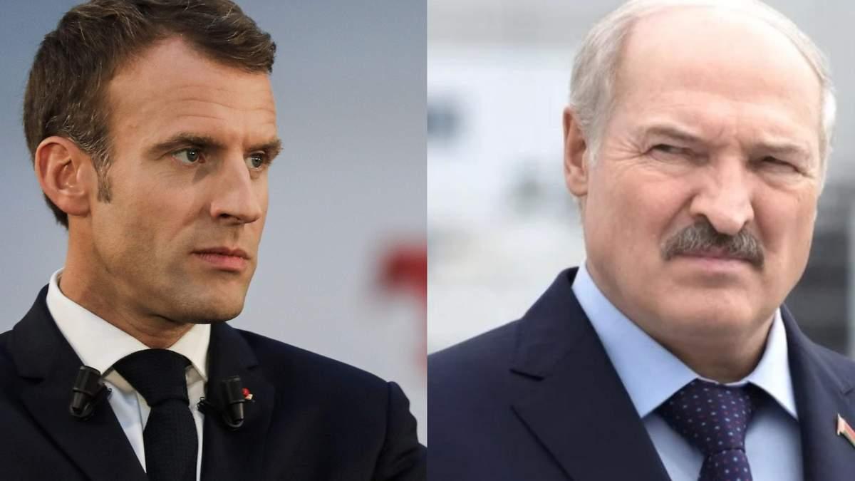 Протести в Білорусі: Макрон заявив, що Лукашенко має піти