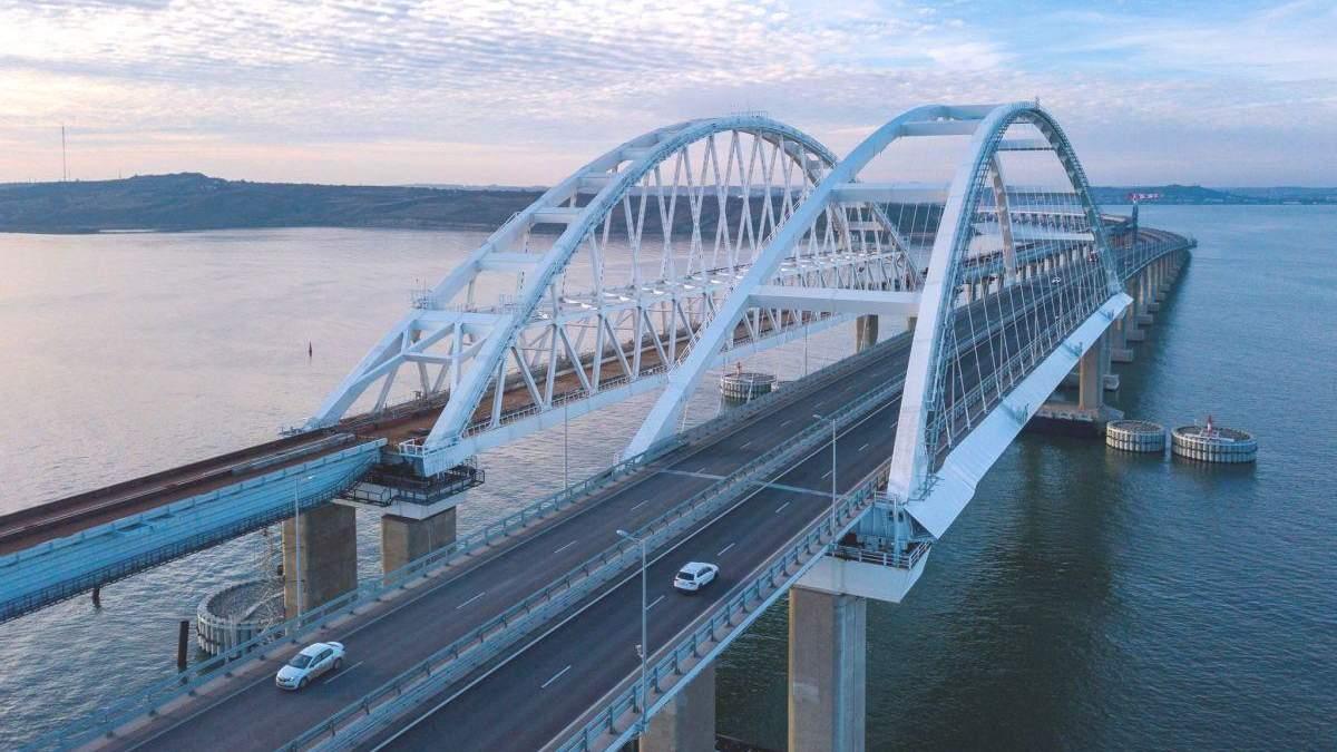 Керченский мост: ЕС вводит новые санкции против российских компаний