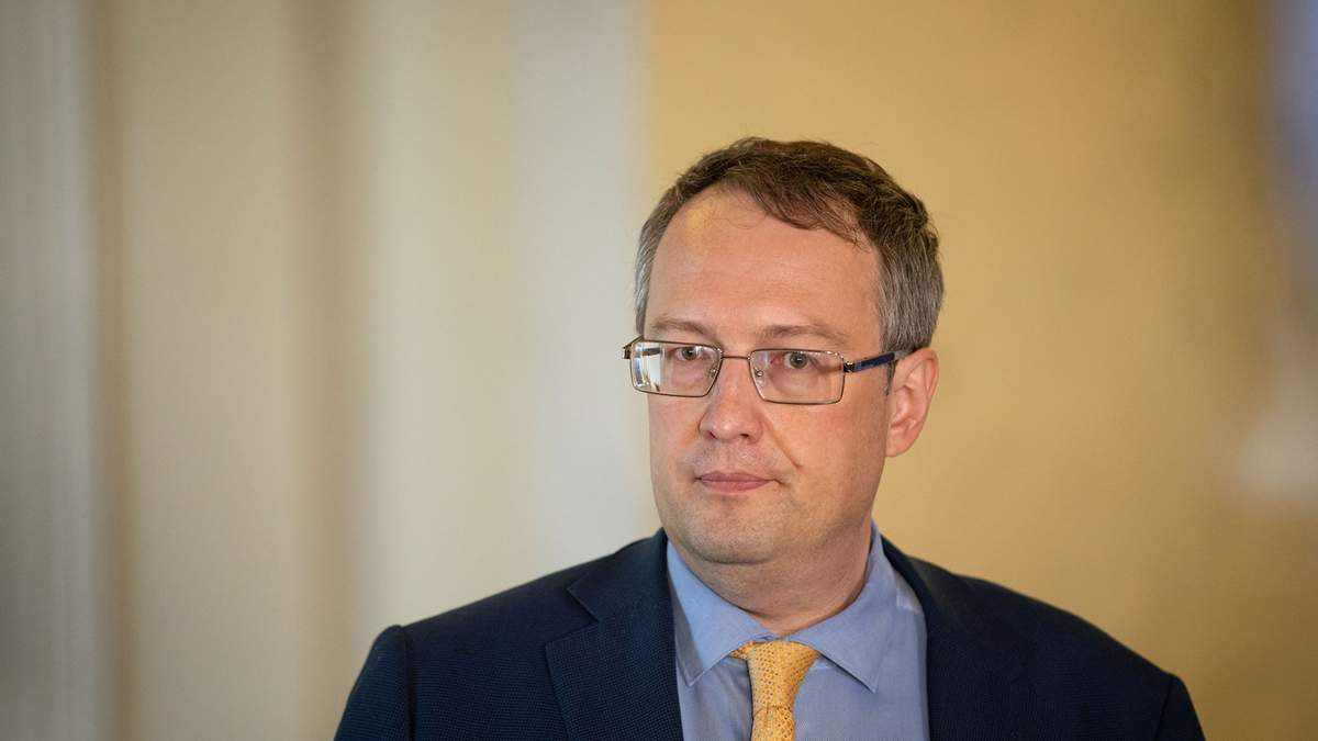 Заступник міністра внутрішніх справ Антон Геращенко