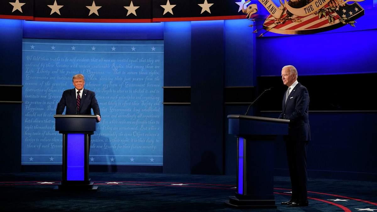 Дебаты Дональда Трампа и Джозефа Байдена