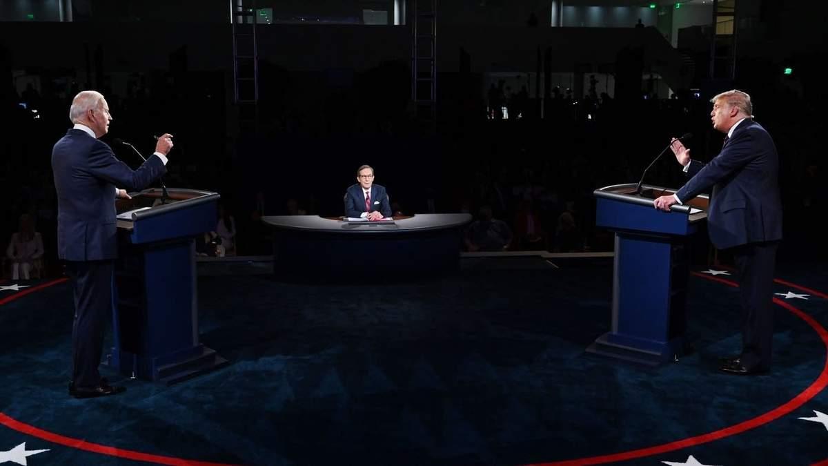 Перший раунд дебатів у США: хто переміг?