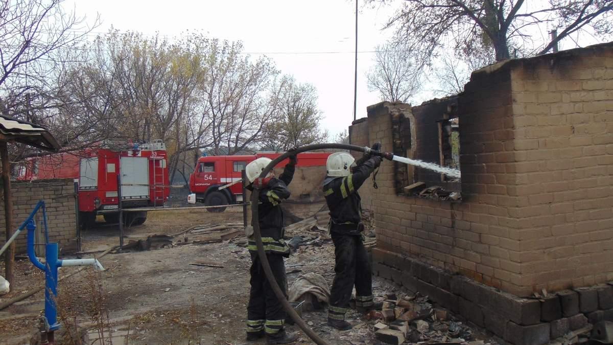 Лісові пожежі в Луганській області 8 жовтня 2020: відео