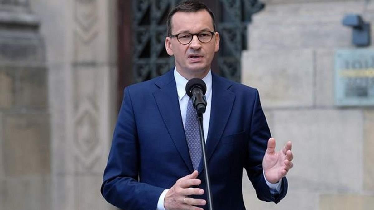Моравецький представив склад свого нового уряду