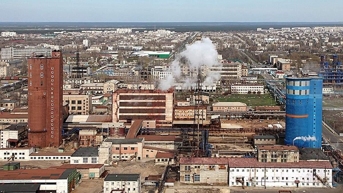 Сєвєродонецькому об'єднанню Азот пожежі на Луганщині не загрожують