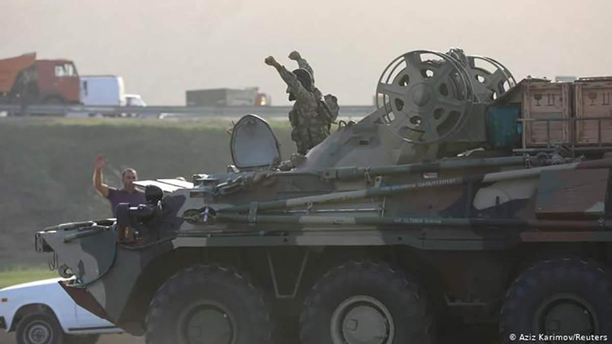 Росія хоче виступити посередником у війні за Нагірний Карабах