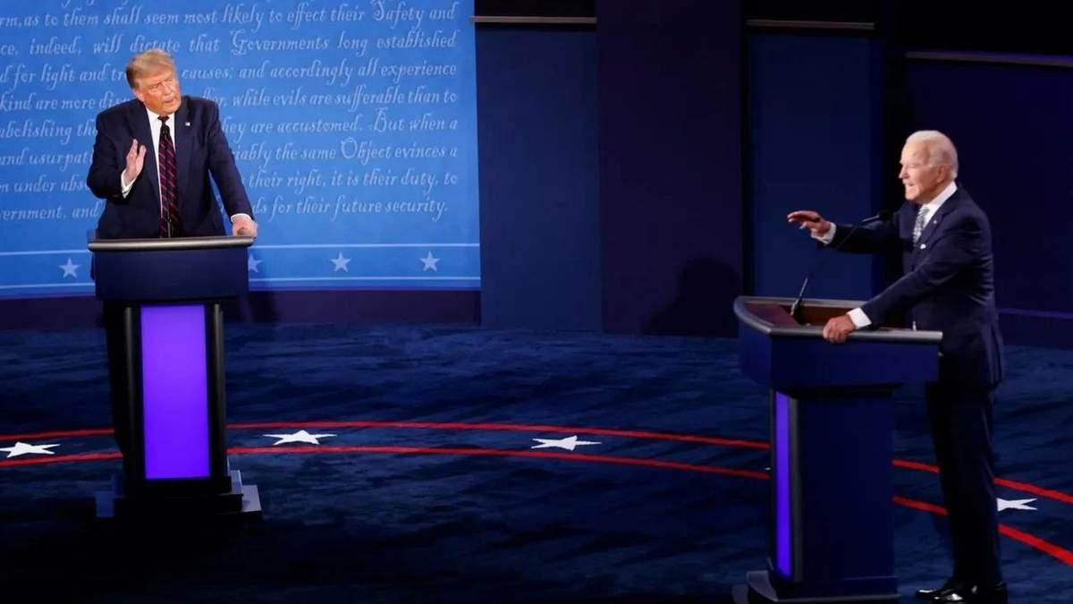Дебаты Трампа Байдена - кто победил - Новости США - 24 Канал