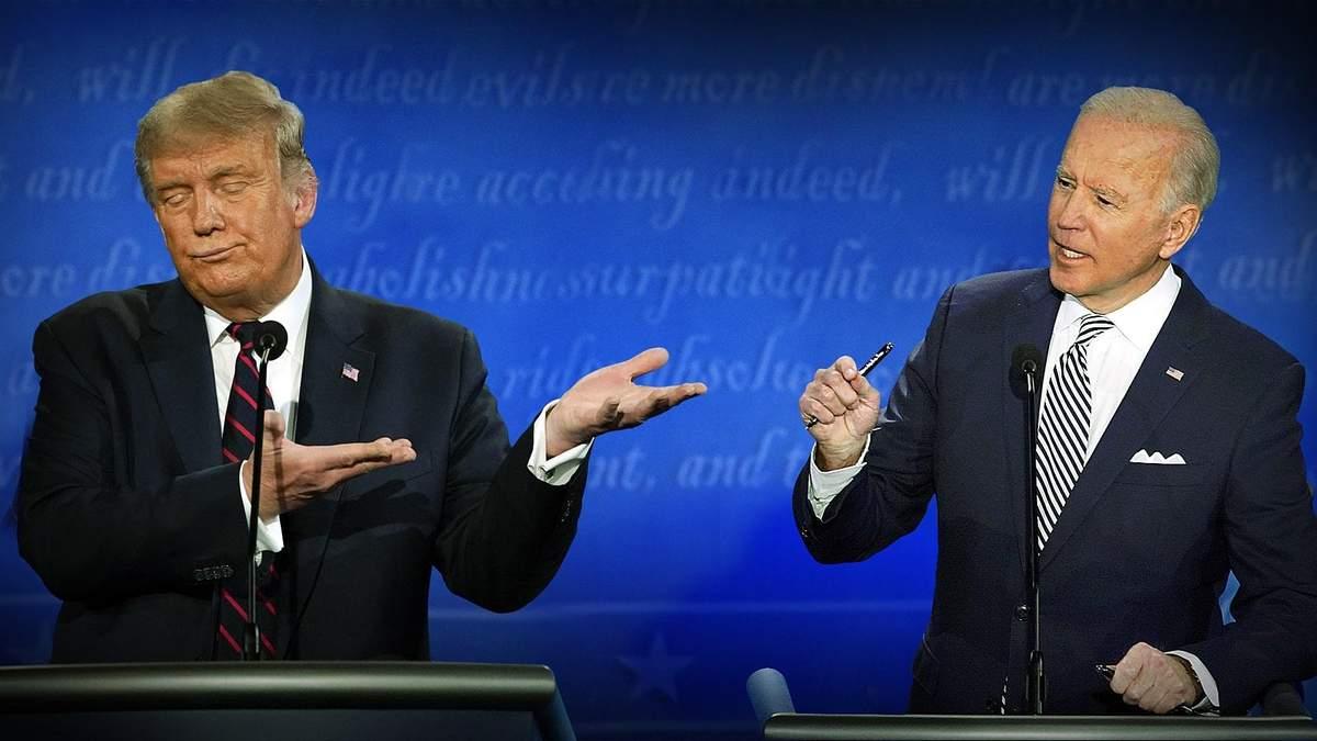 У США відбудеться другий раунд дебатів Трампа та Байдена