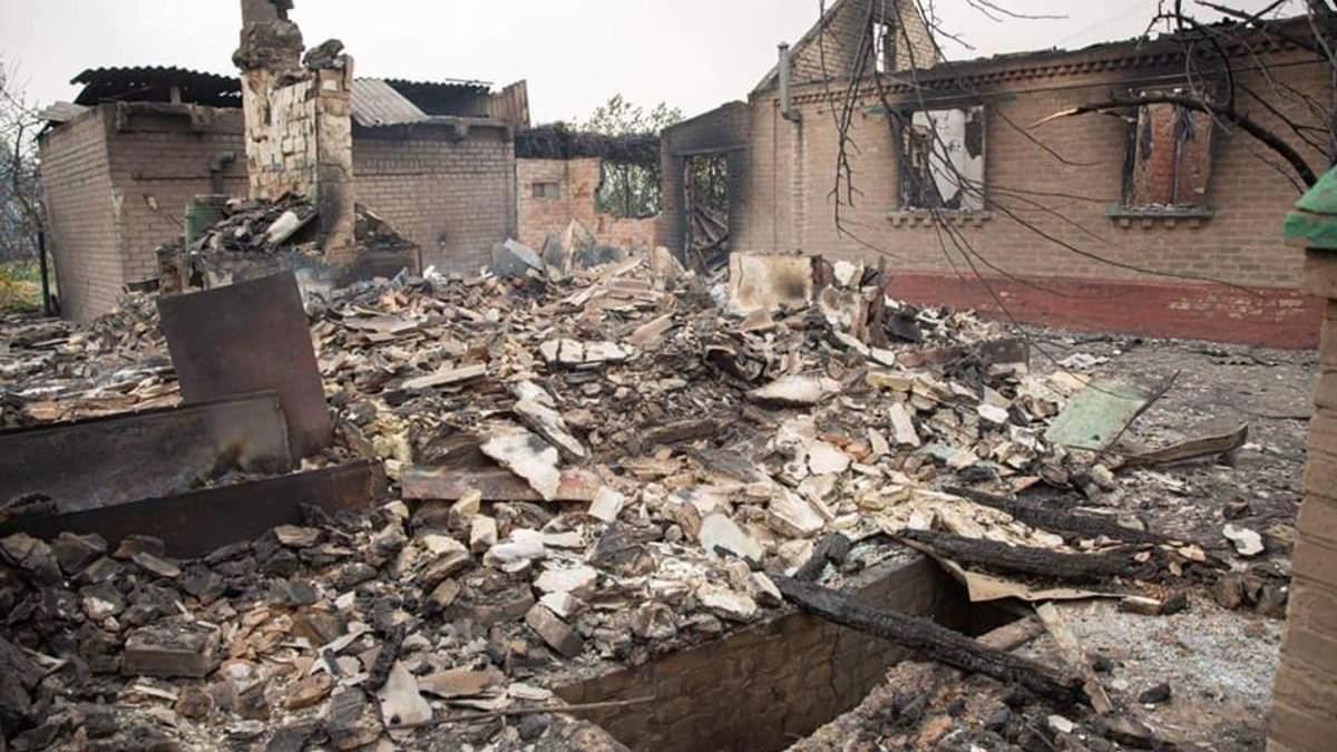 Пожежі на Луганщині: Шмигаль розповів, скільки виплатять постраждалим