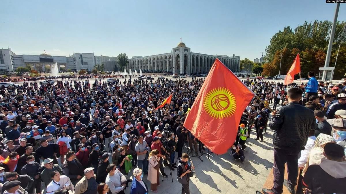 У Киргизстані протестують через результати виборів