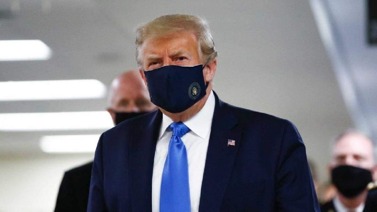 Трамп вийшов з лікарні, повернувся в Білий дім і закликав не боятися коронавірусу