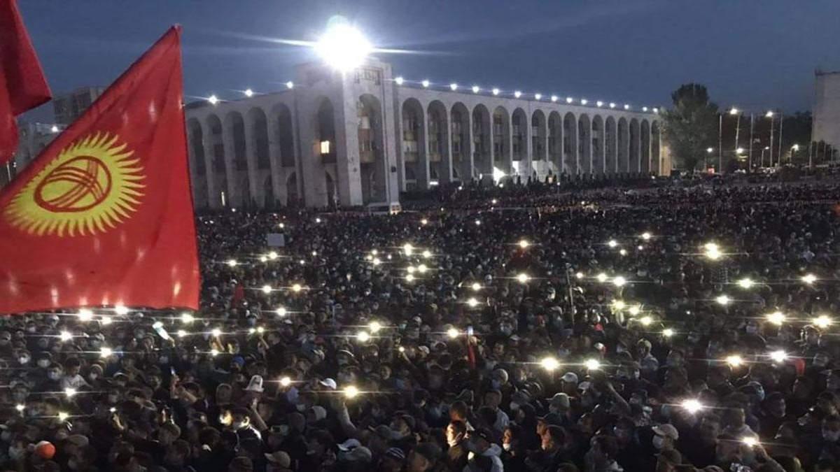 Протесты в Кыргызстане 7 октября 2020: число пострадавших возросло
