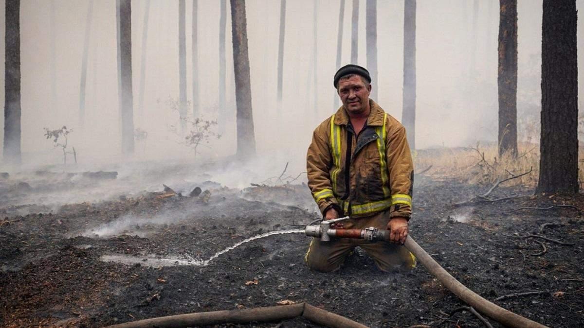 Поліція встановила 4 джерела займання пожеж на Луганщині: деталі