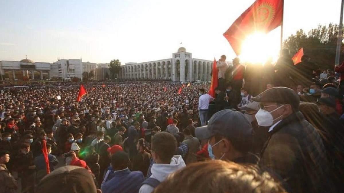 Что произошло в Кыргызстане 2020 - новости, фото и видео протестов