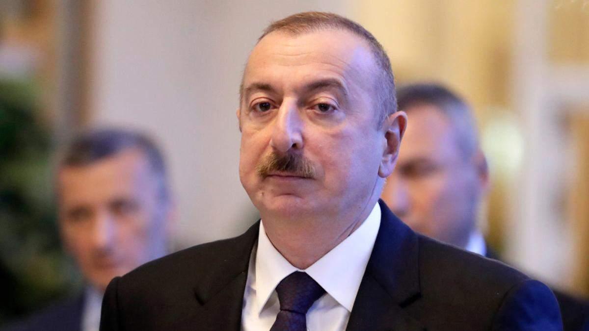 Алієв про Нагірний Карабах: Вірменія хоче втягнути ОДКБ та Європу