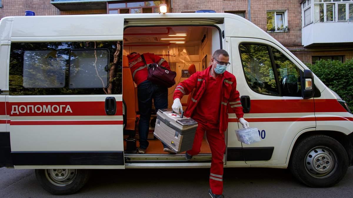 Больница 9, Киев – пробки из-за больных COVID-19 – причина