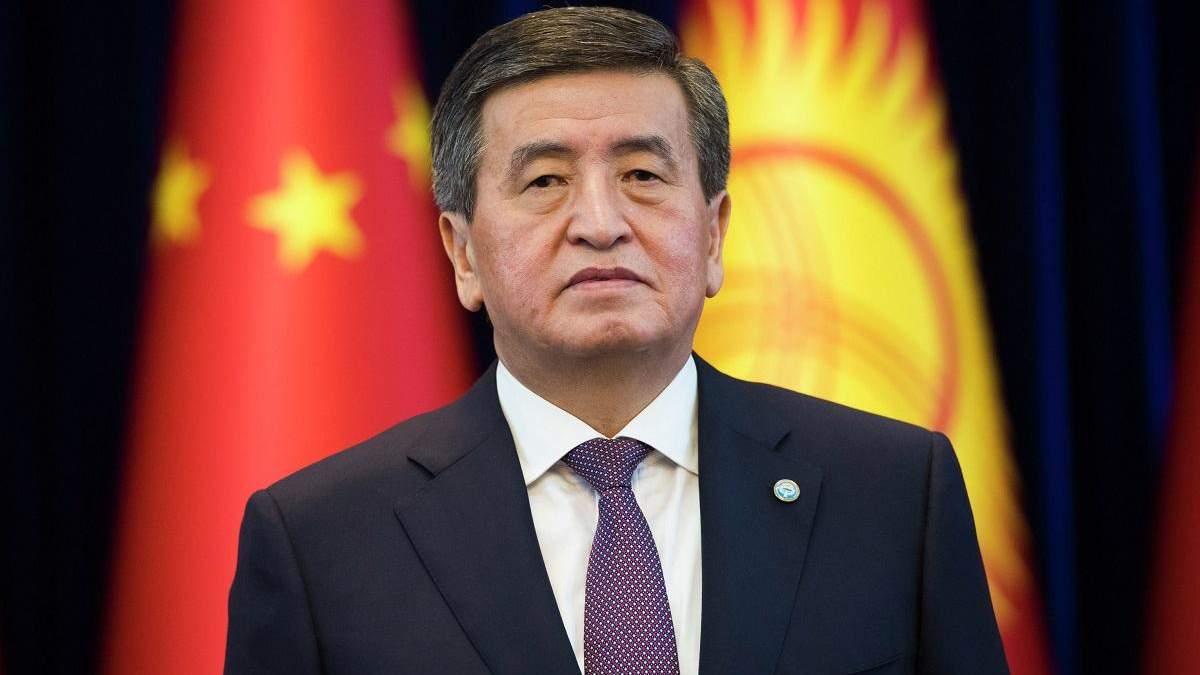 Зник президент Киргизстану Сооронбай Жеенбеков: що відомо