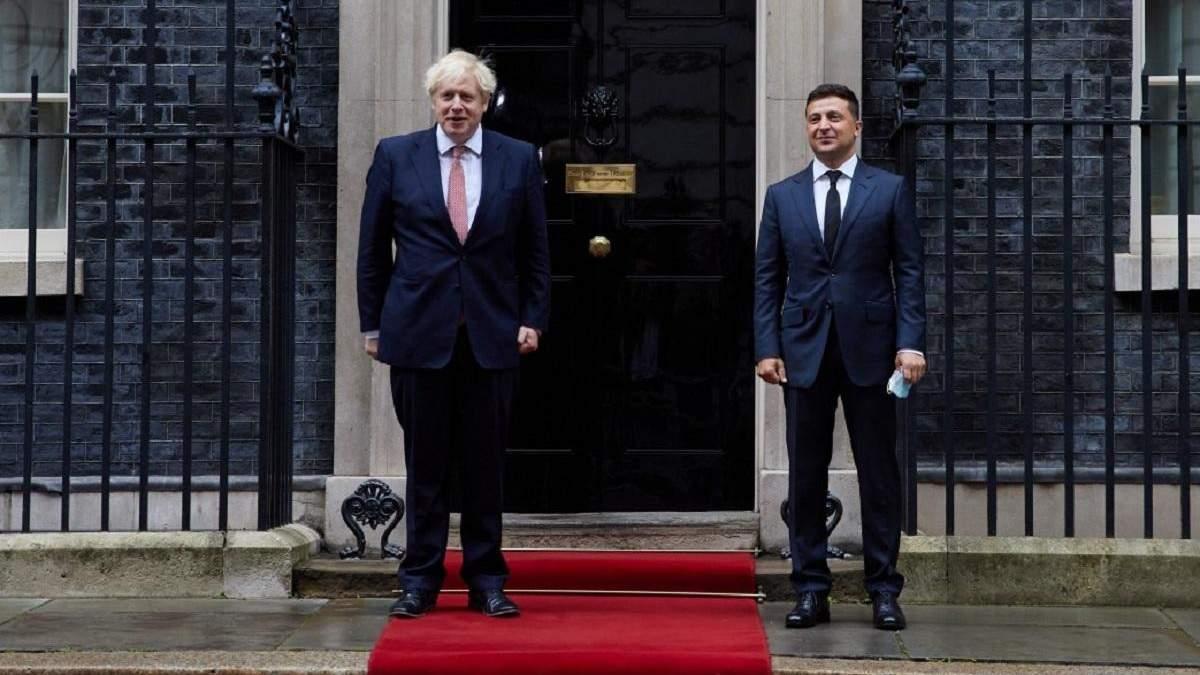 Борис Джонсон заявив, що Британія палка прихильниця України