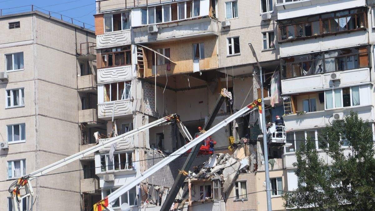 Постраждалі від вибуху на Позняках звернулися до Зеленського: відео