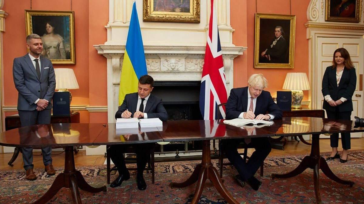 Україна Британія - що підписав Зеленський та Джонсон? - 24 Канал