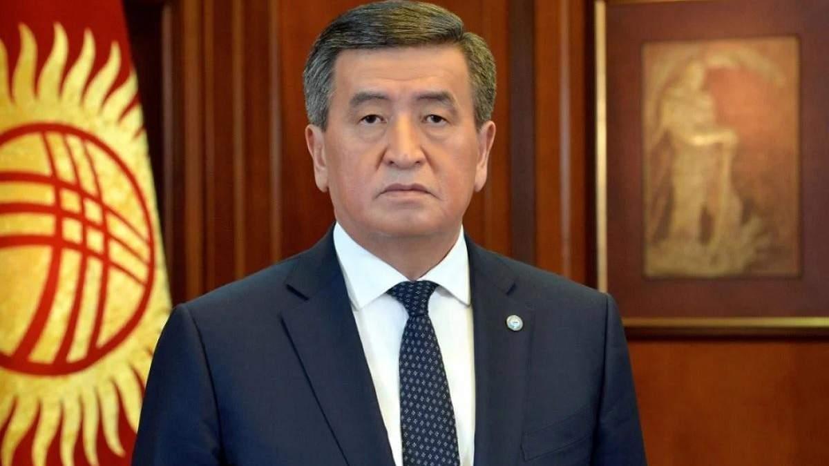 Правительство и премьера Кыргызстана отправили в отставку