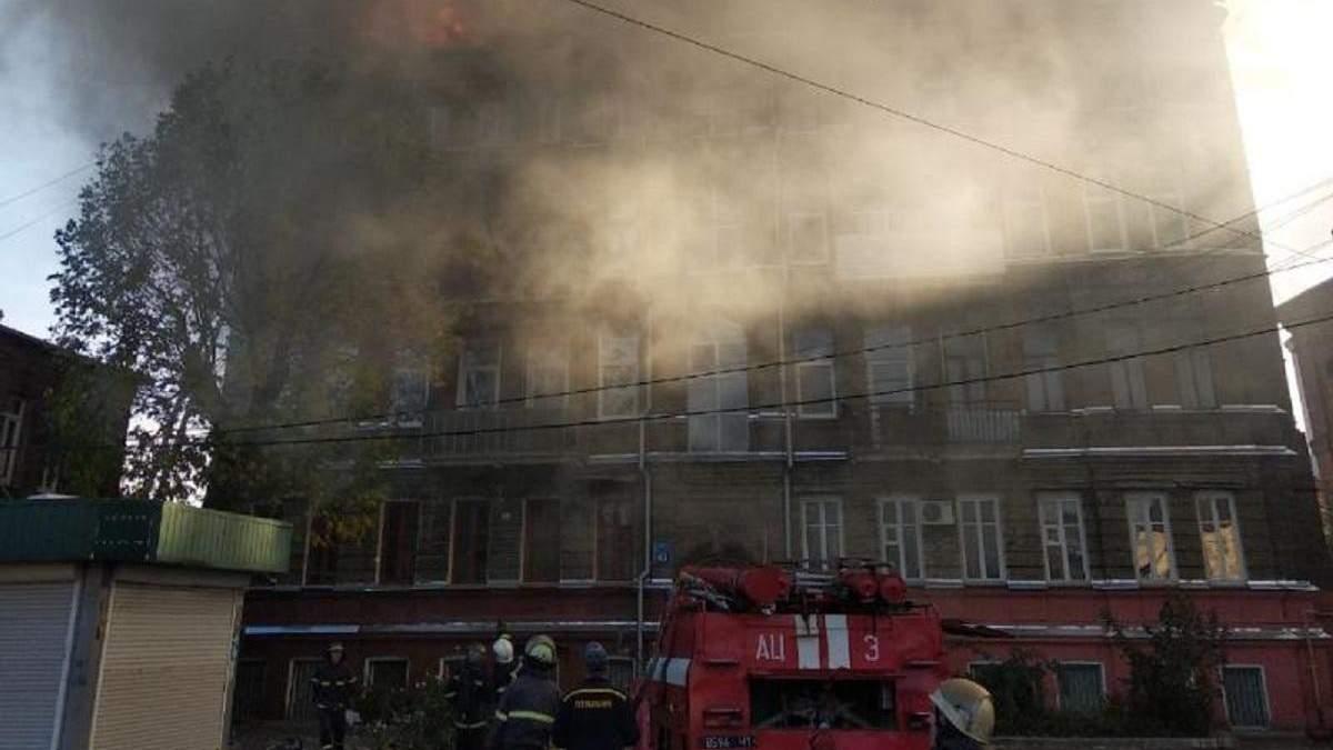 Пожежа в Харкові на Чоботарській 9 жовтня – фото, відео