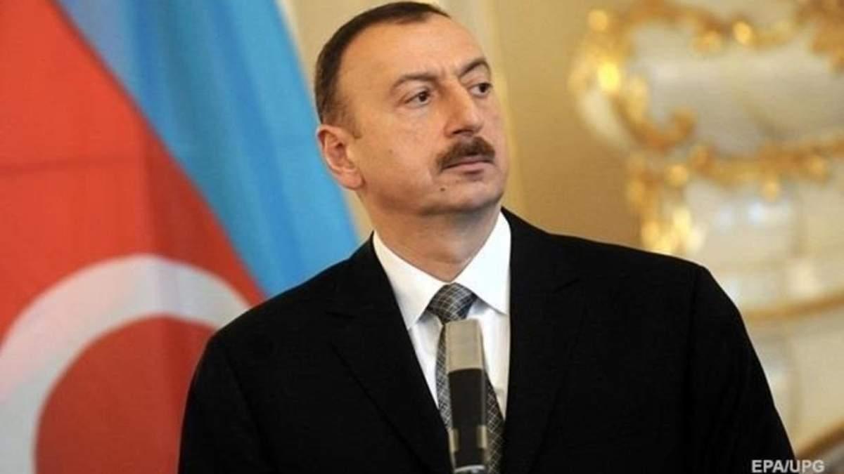 Алиев назвал захват территорий Нагорного Карабаха историческим моментом