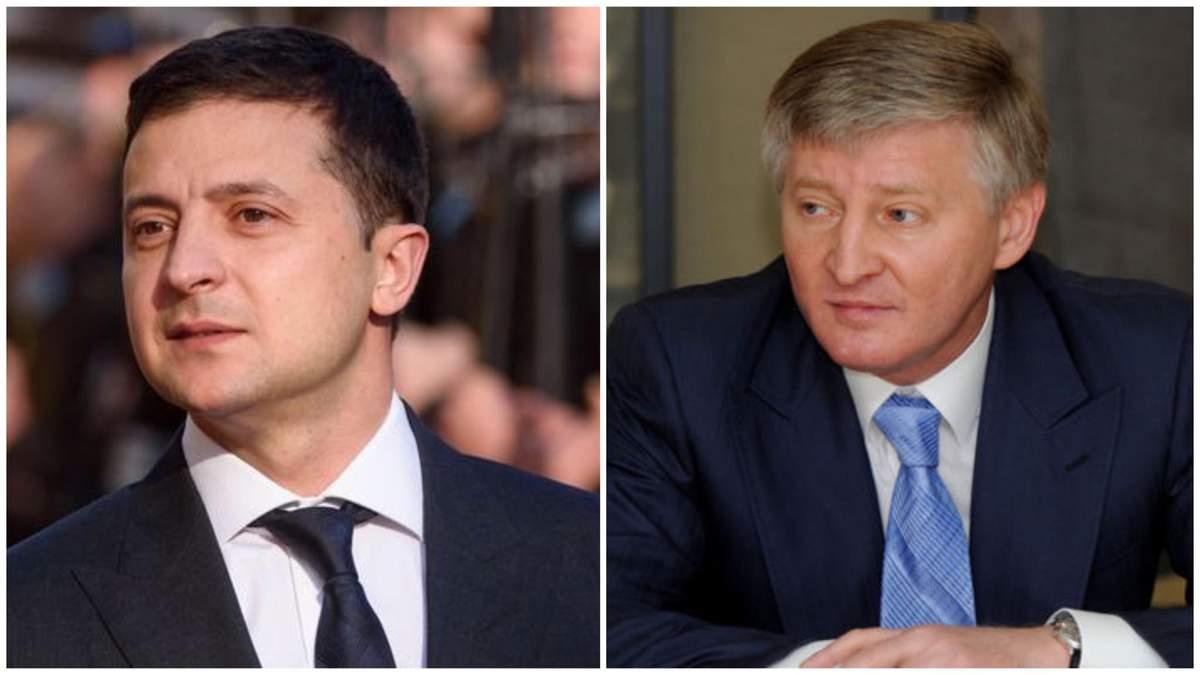 Журналіст про зв'язки уряду Зеленського з Ахметовим