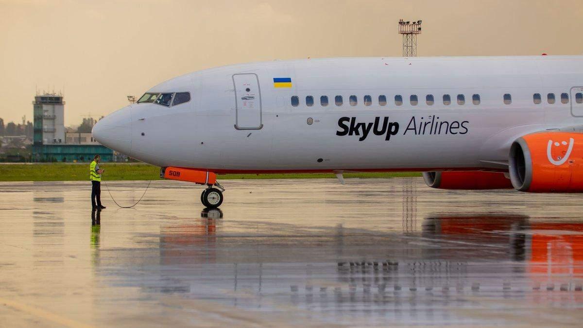 SkyUp здійснить нерегулярні авіаперельоти в Узбекистан: деталі