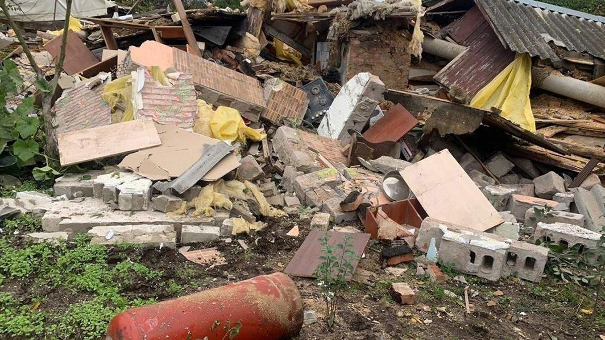 У Чернігові вщент розгромило будинок: постраждав 11-річний хлопець
