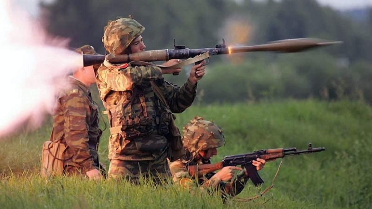 Бойовики стріляли з гранатомета по українських позиціях