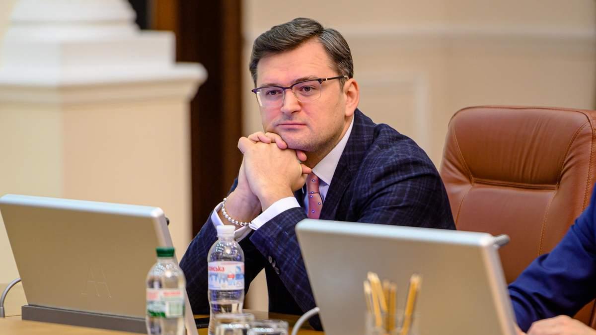 Яке вирішення є абсолютним пріоритетом для України: що сказав Кулеба про Донбас