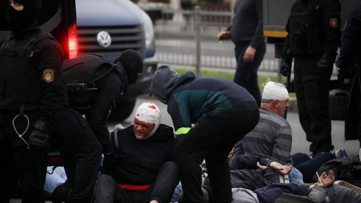 Протести в Білорусі 11.10.2020: скількох активістів затримали