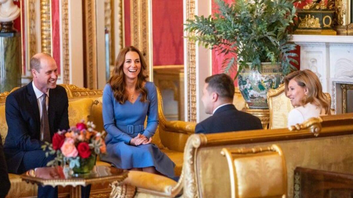 Супруги Зеленские и герцог и герцогиня Кембриджские продолжат диалог