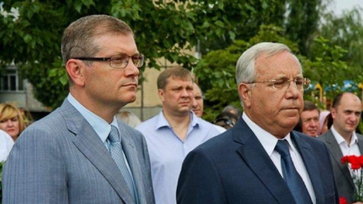 Юрій Вілкул разом зі своїм сином Олександром