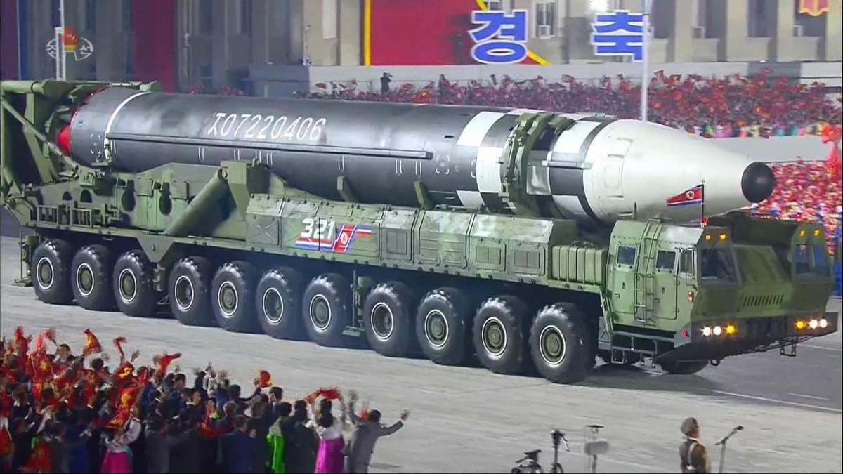 Нова ракета КНДР