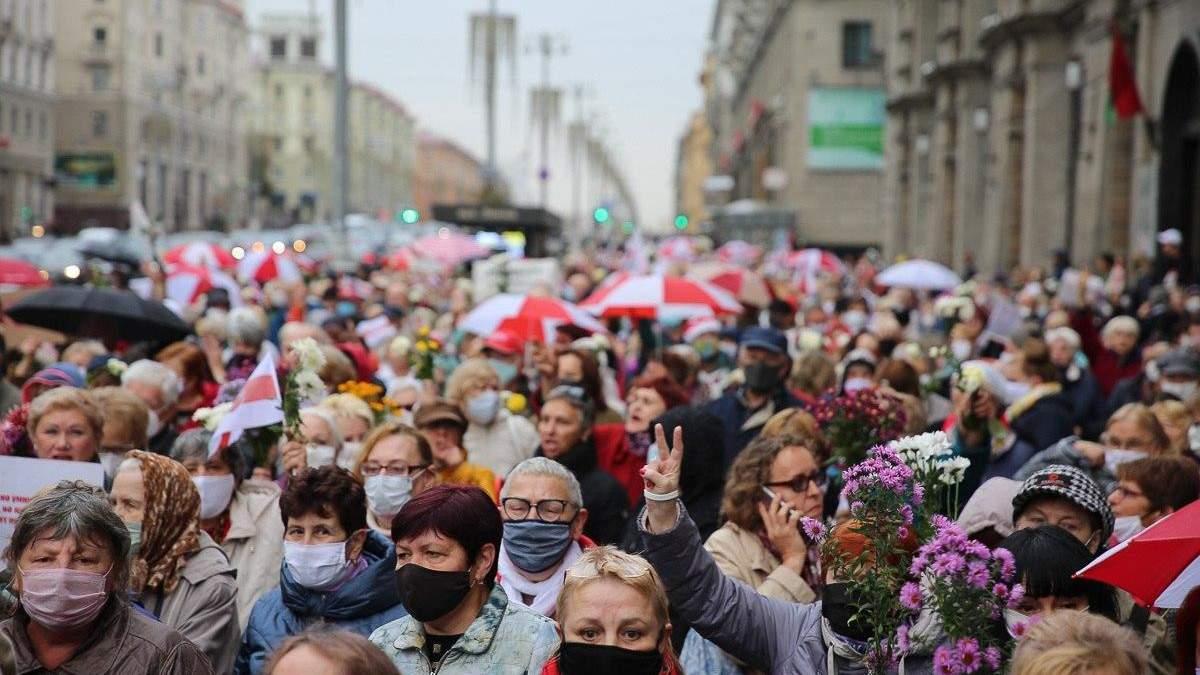 Марш пенсіонерів у Мінську 12.10.2020: як це було – фото, відео