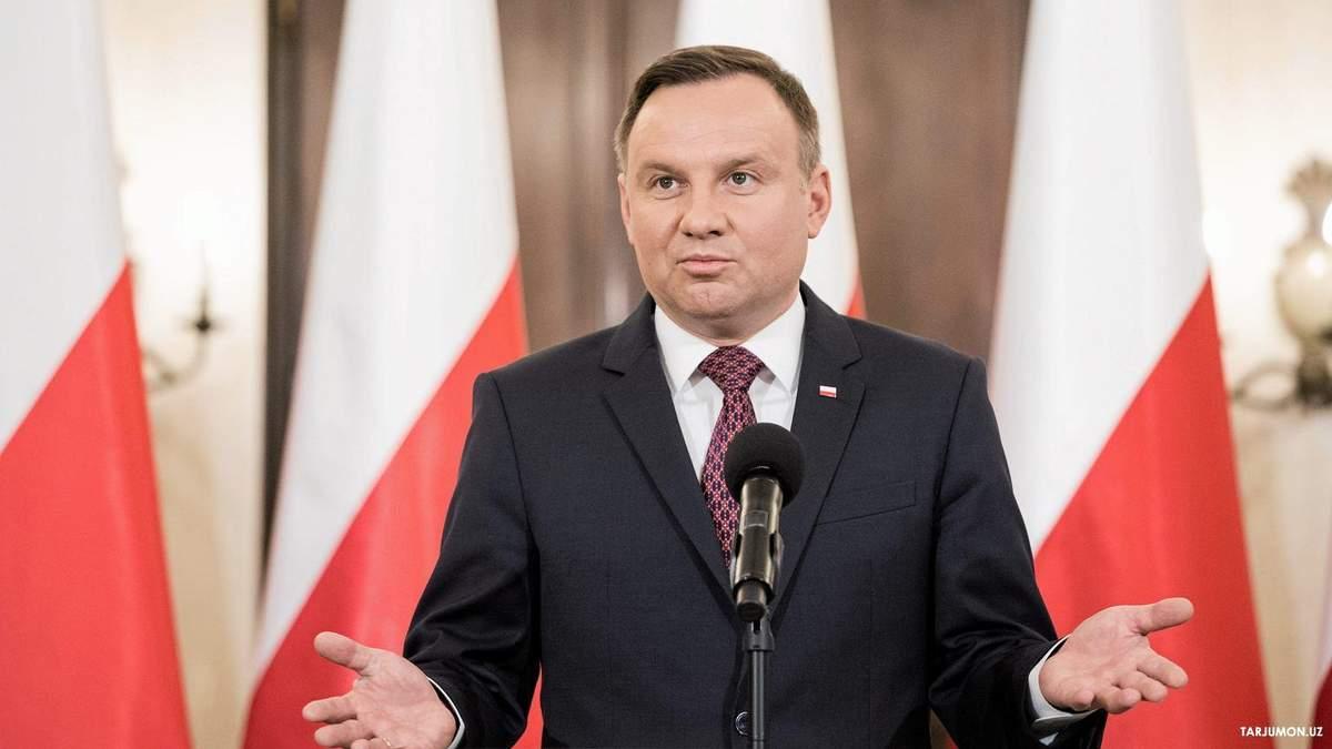 Анджей Дуда розповів, як Польща використає головування в ОБСЄ