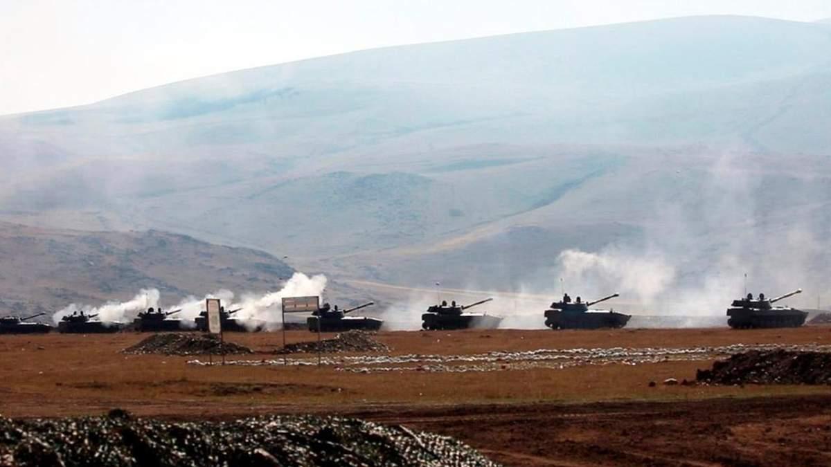 Обстріл Нагірного Карабаху