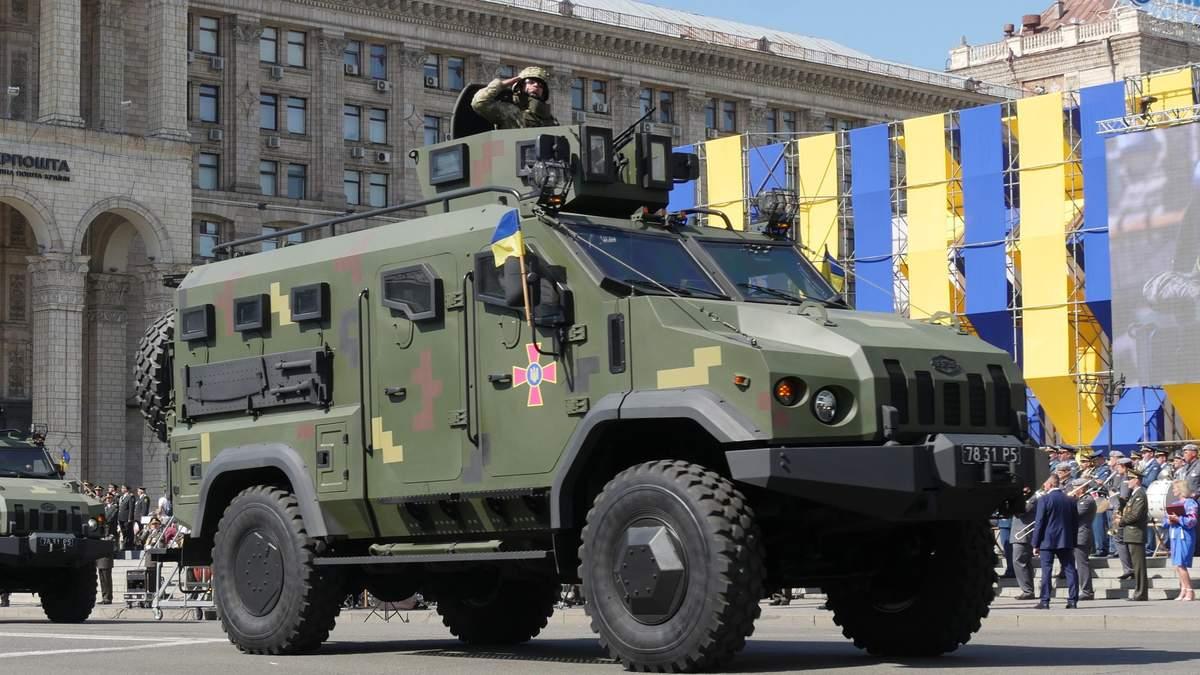Укроборонпром закупив у компанії Гладковського бронемобілі