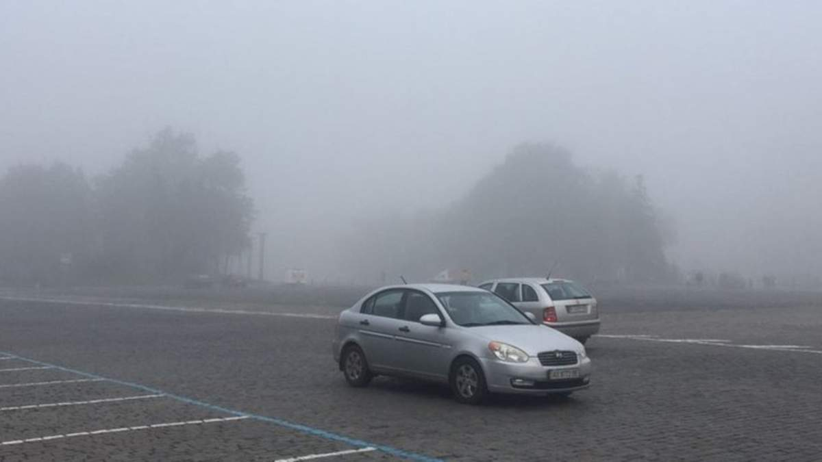 В Харькове из-за густого тумана задерживают авиарейсы: фото, видео
