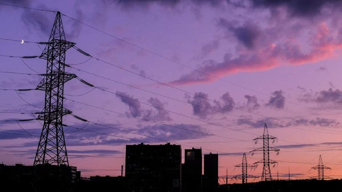 Імпорт електричної енергії в Україні