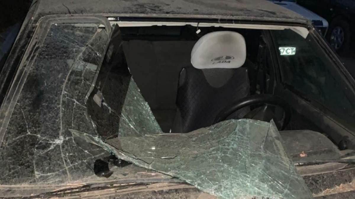 Автомобіль правозахисниці Віри Ястребової спалили на Луганщині: фото л