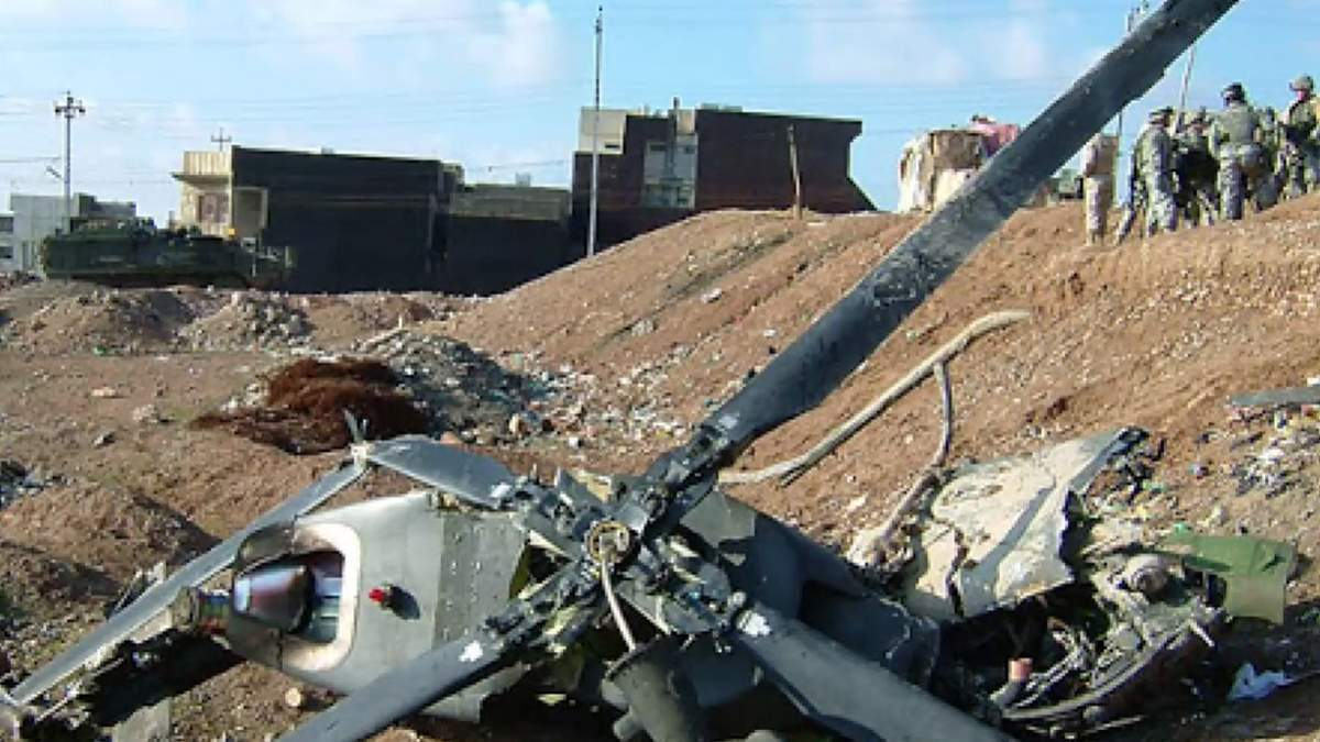 На юге Афганистана столкнулись 2 вертолета