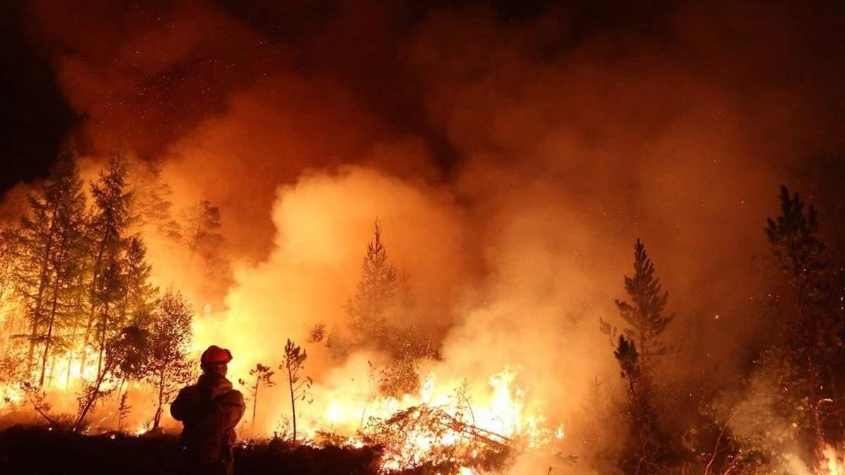 В Украине объявили чрезвычайный уровень пожарной безопасности