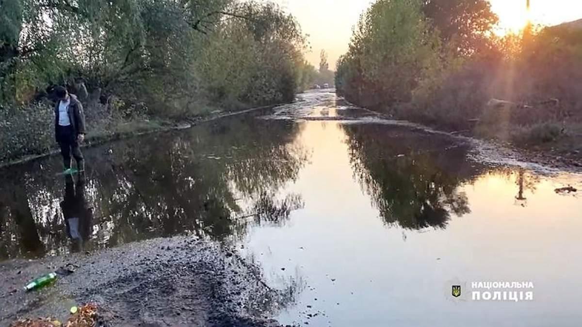 У Черкасах витекло 100 тисяч тонн азотних добрив
