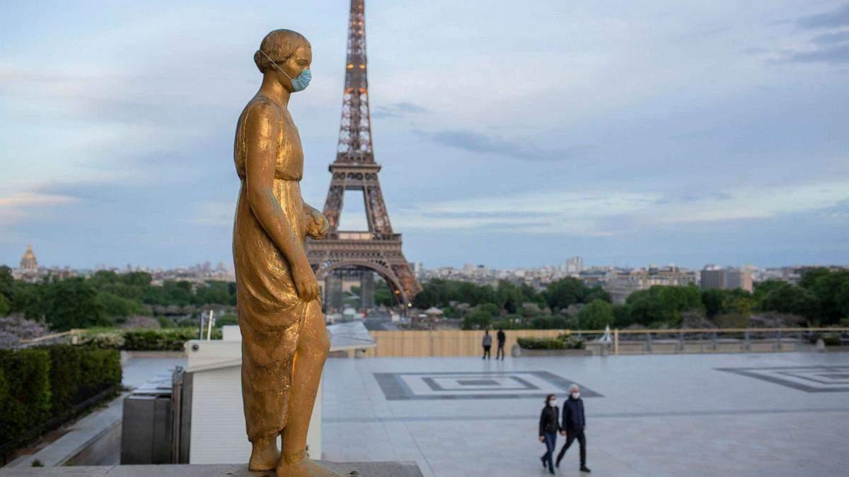 У Франції запроваджують комендантську годину через коронавірус