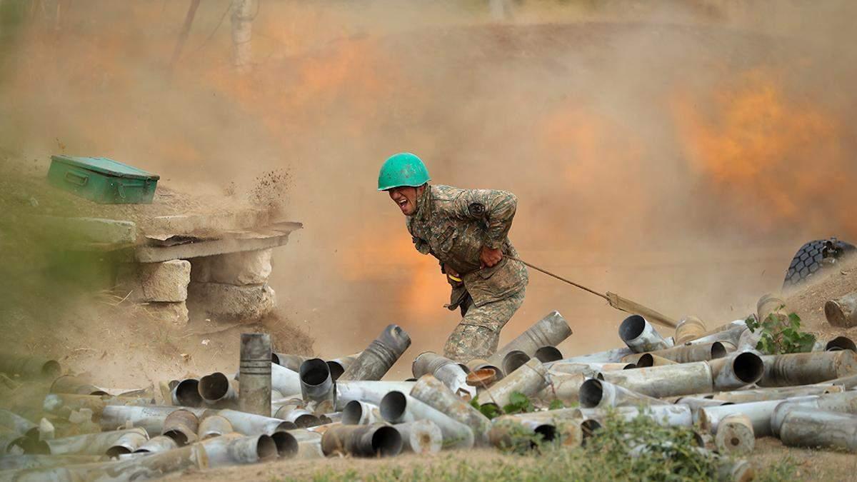 Азербайджан вперше визнав, що обстріляв територію Вірменії