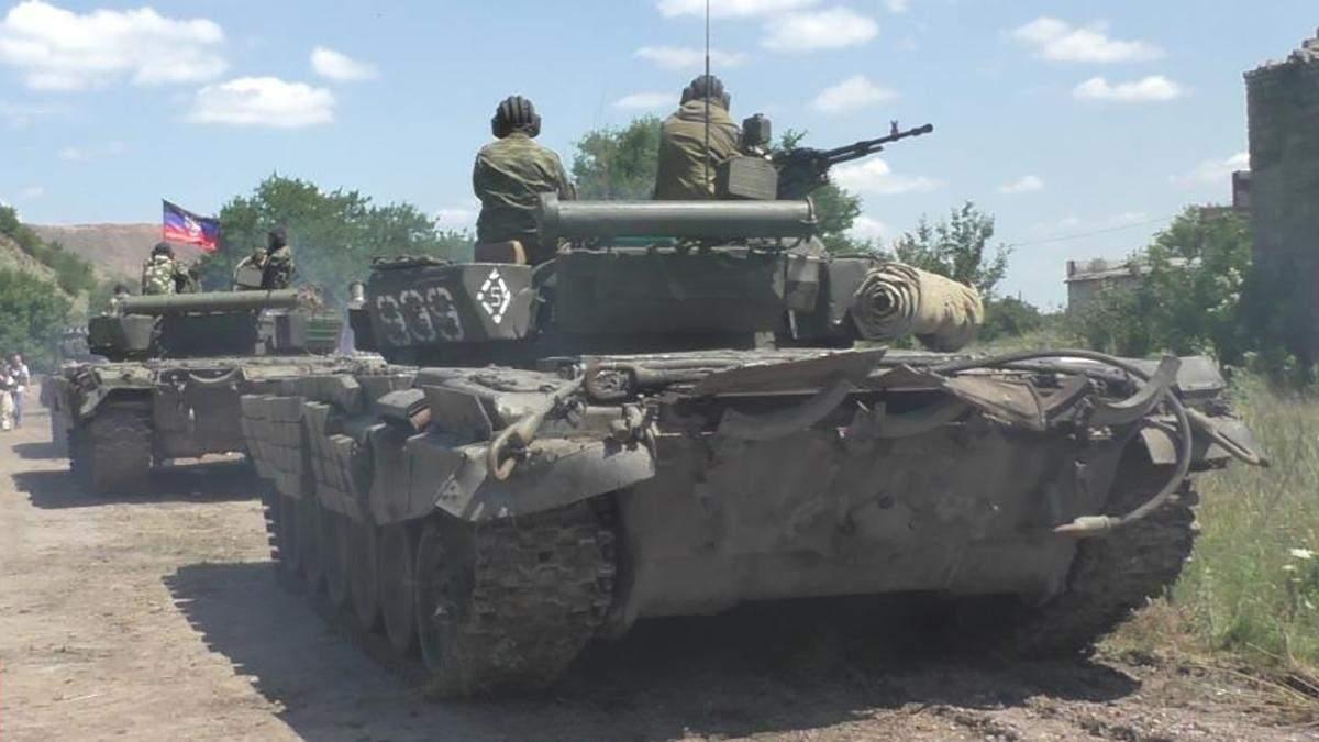 СММ ОБСЄ виявила танки та БТРи бойовиків у житлових районах на Луганщині
