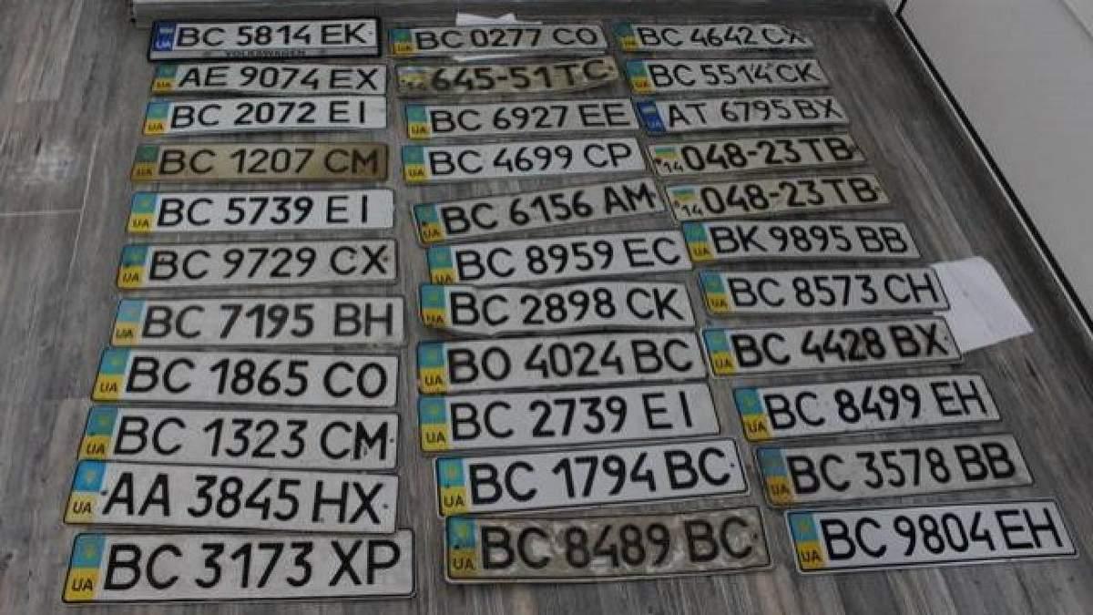 Номеры авто в Украине