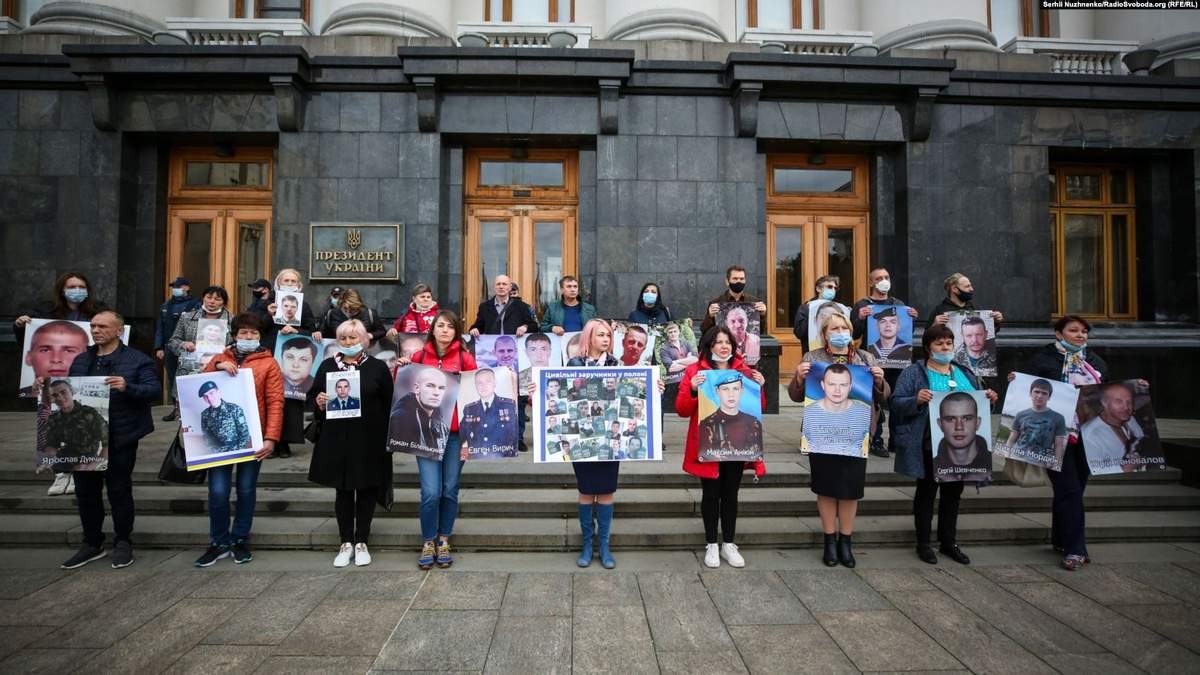Акція протесту під Офісом Президента 15.10.2020: вимоги активістів
